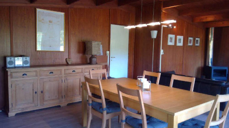 Eethoek in chalet Da Vinci